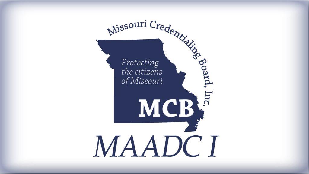 Credentials - Missouri Credentialing Board