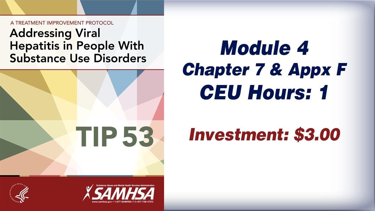 TIP 53 – Module 4