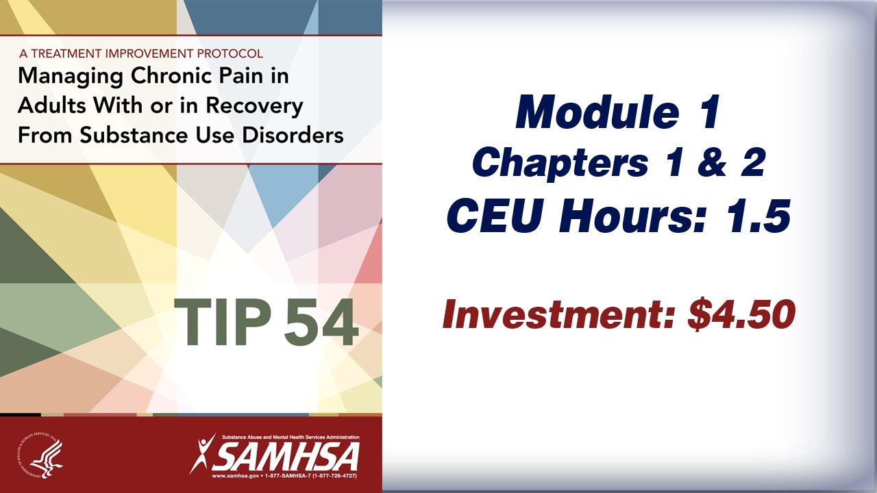 TIP 54 – Module 1