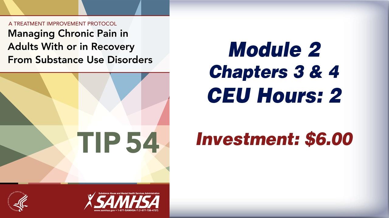 TIP 54 – Module 2