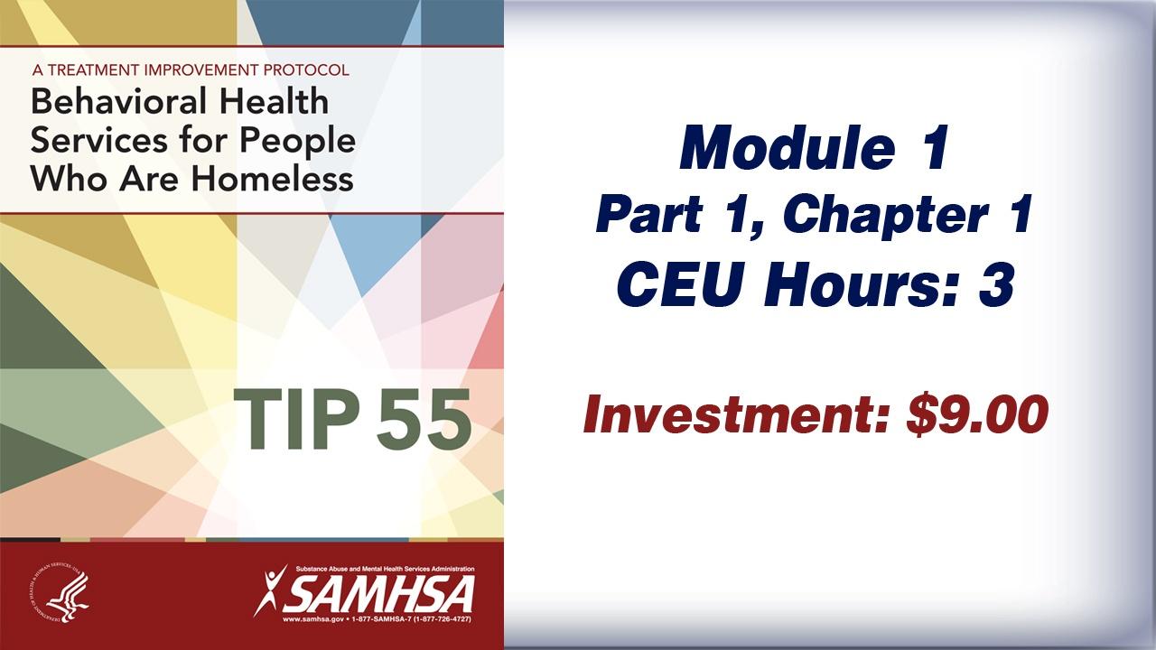 TIP 55 – Module 1