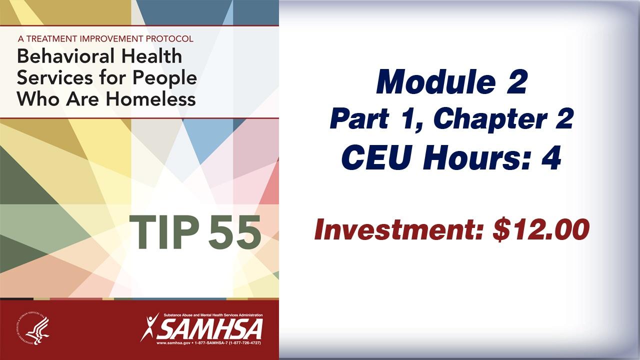 TIP 55 – Module 2