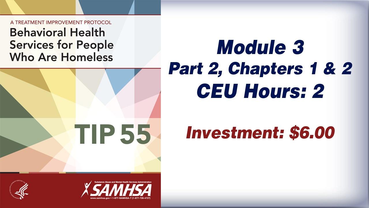 TIP 55 – Module 3