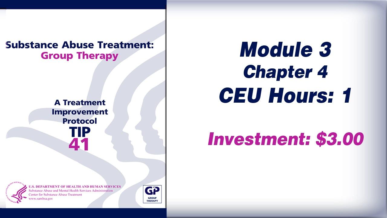 TIP 41 – Module 3