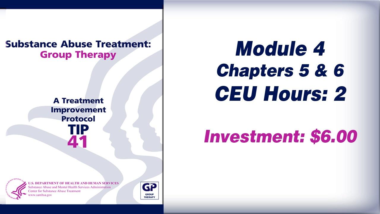 TIP 41 – Module 4
